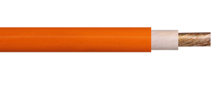 Picture of Orange HV Cable 50mm